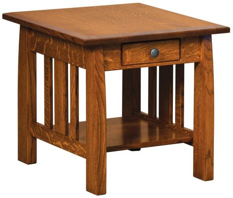 Manti Arts & Crafts End Table