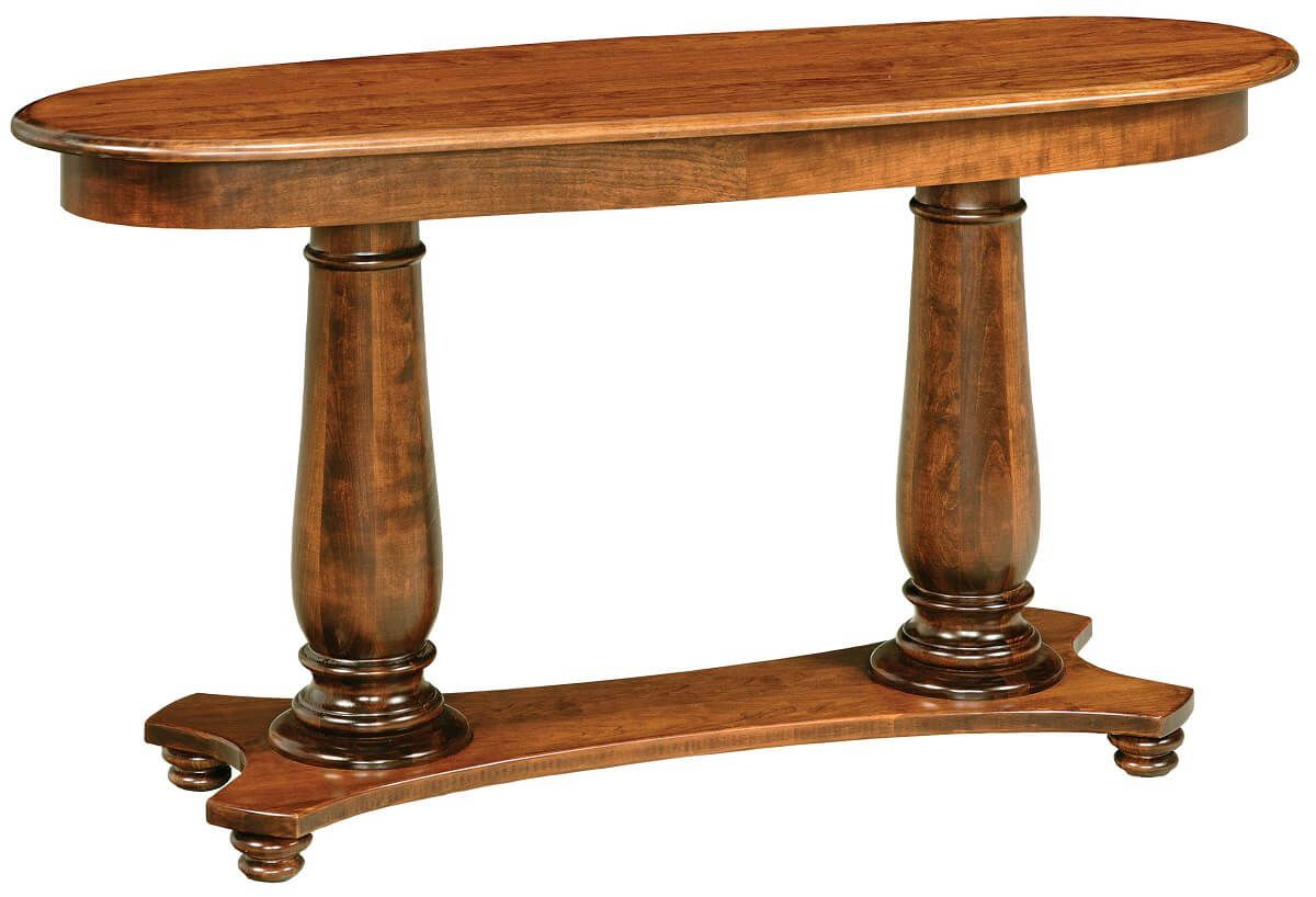 North River Cherry Console Table