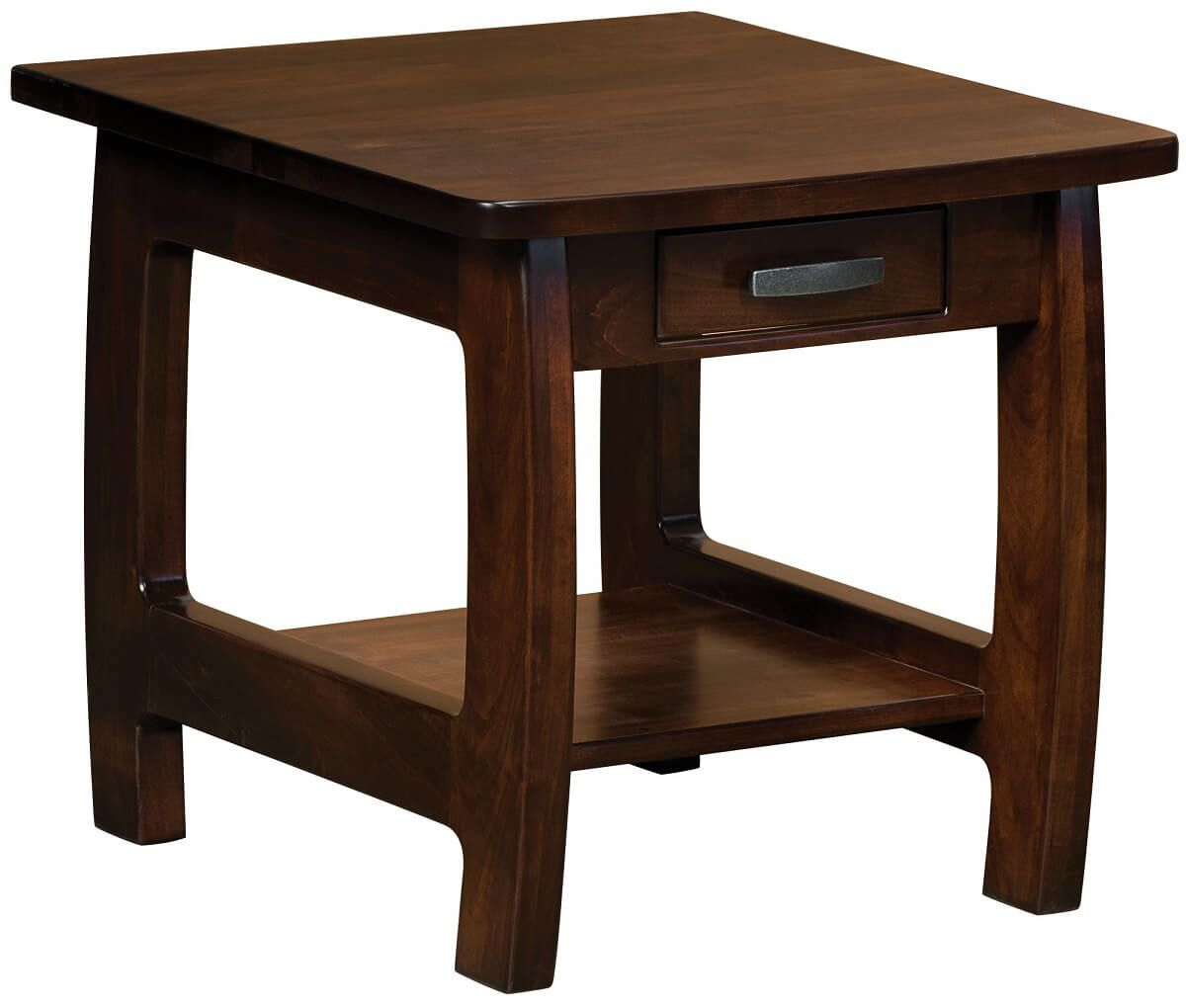 Brown Maple Okanogan End Table