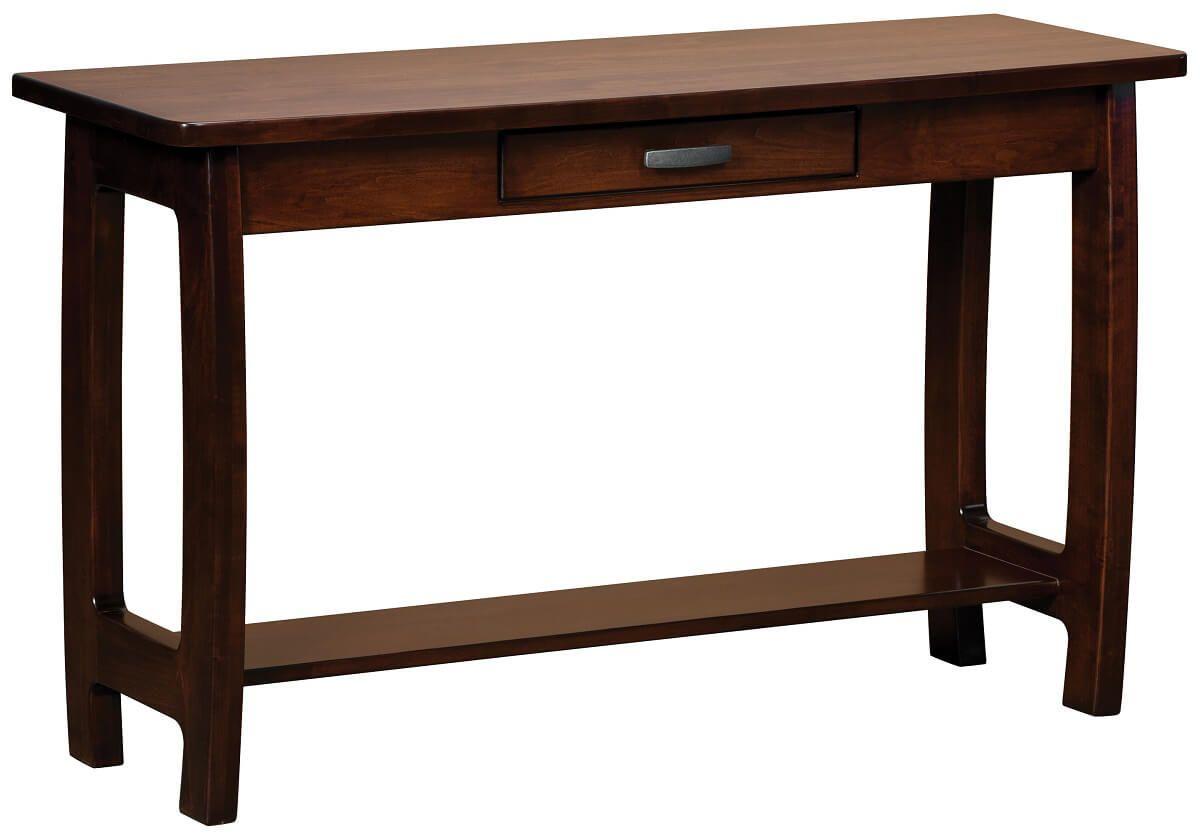 Brown Maple Okanogan Console Table