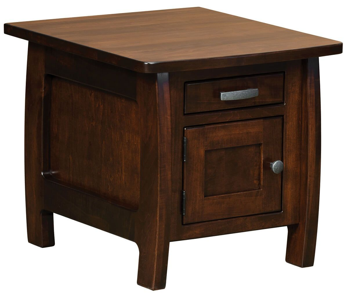 Okanogan Storage End Table Countryside Amish Furniture