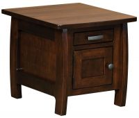 Okanogan Storage End Table