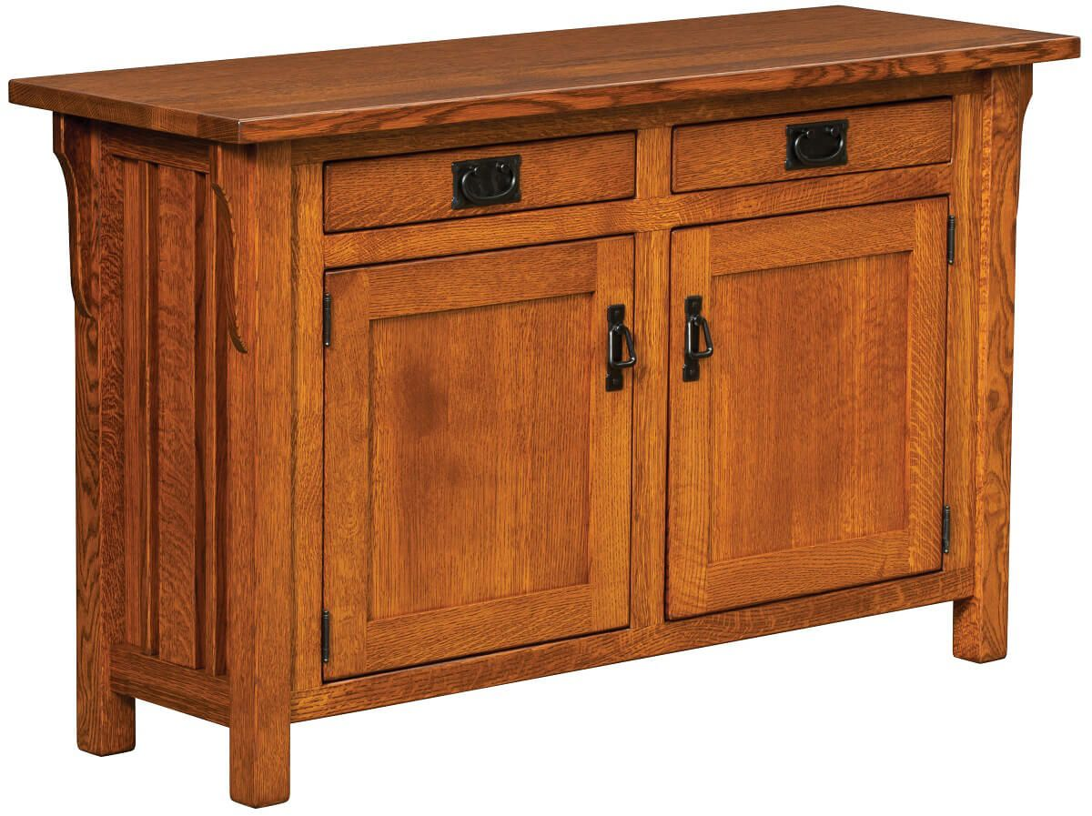 Payette Mission Console Cabinet