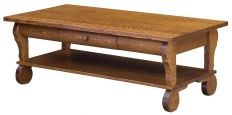 Rowena Sleigh Coffee Table