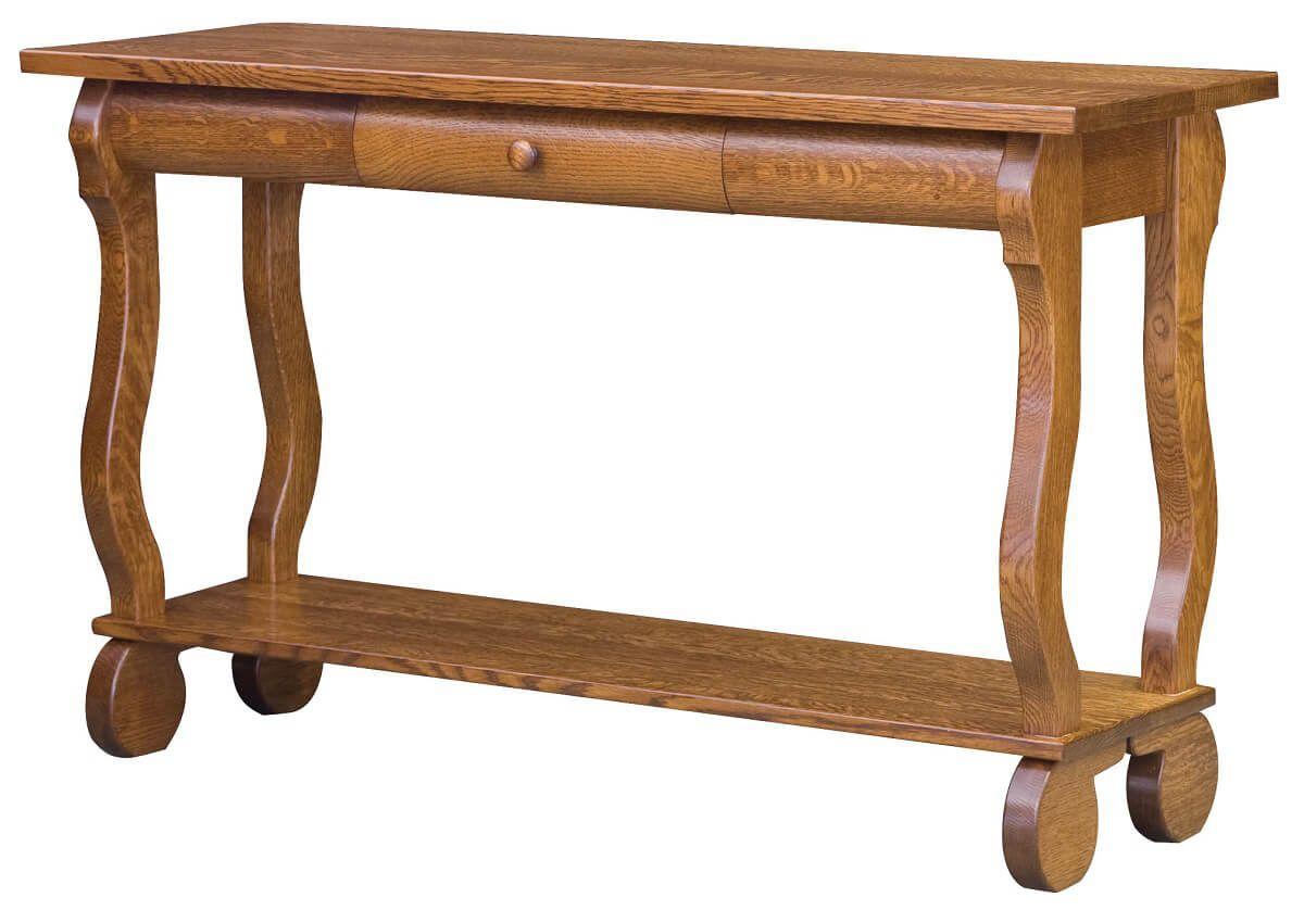 Rowena Sleigh Console Table