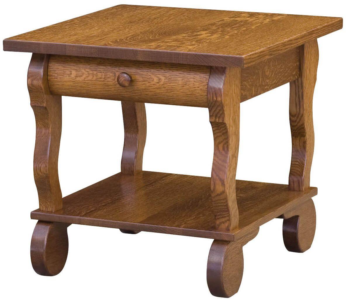 Rowena Sleigh End Table