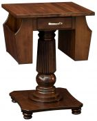 Wilton Lamp Table with Storage