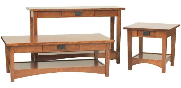 Mission Style Occasional Tables