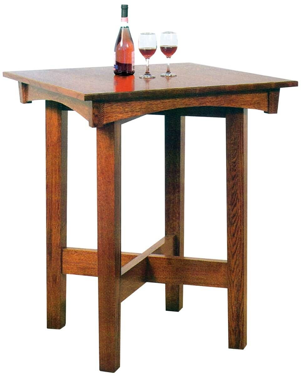 Gustav Craftsman Pub Table