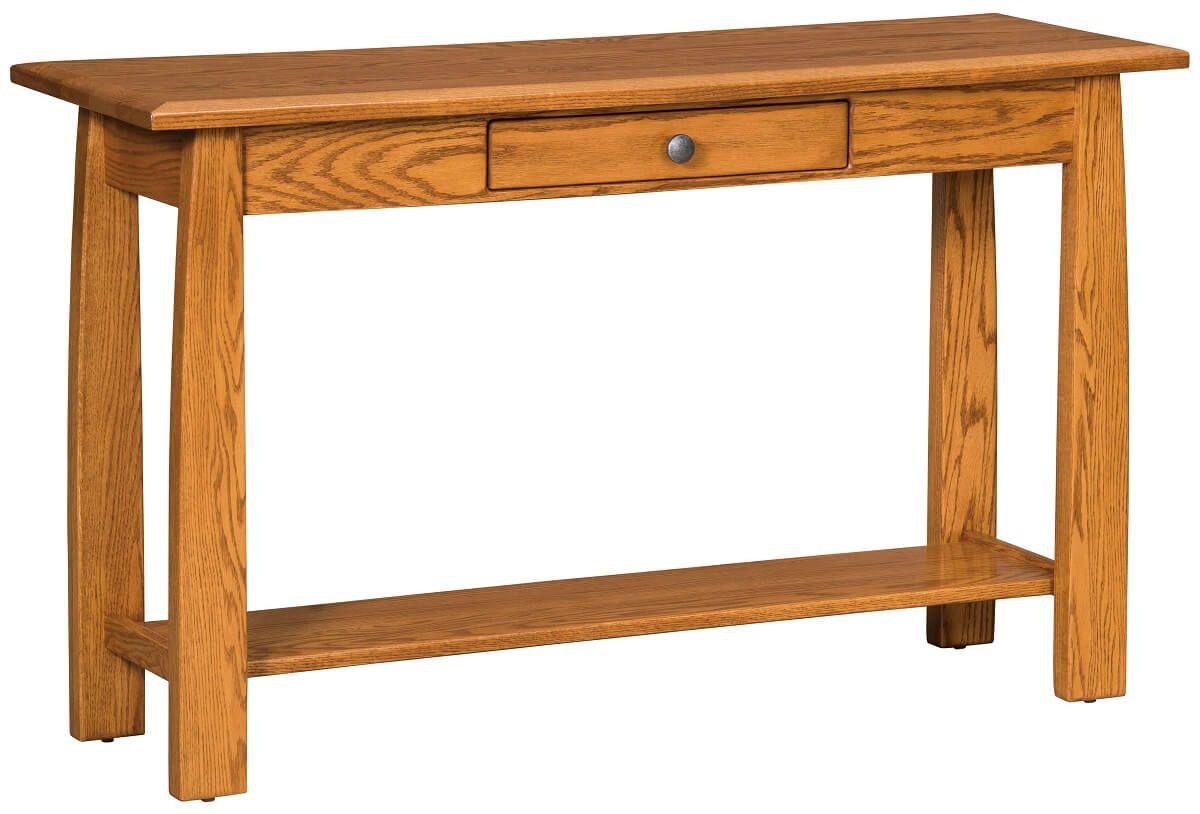 Klamath Console Table in Oak