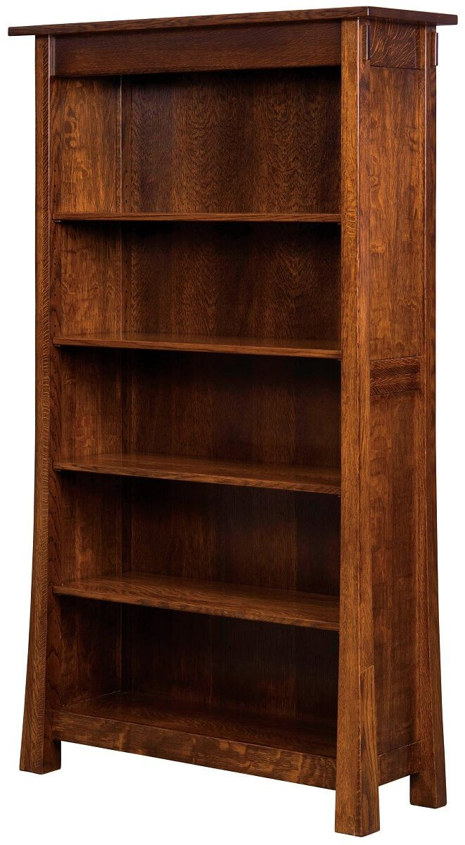 4-Shelf Lassen Bookcase