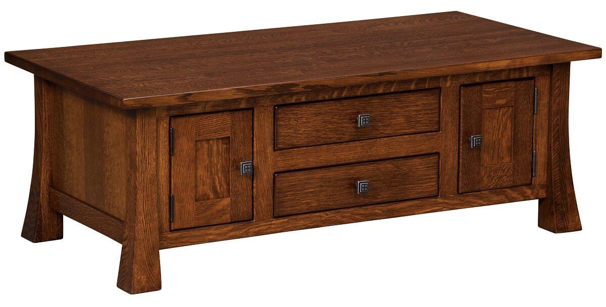 Lassen Cabinet Coffee Table