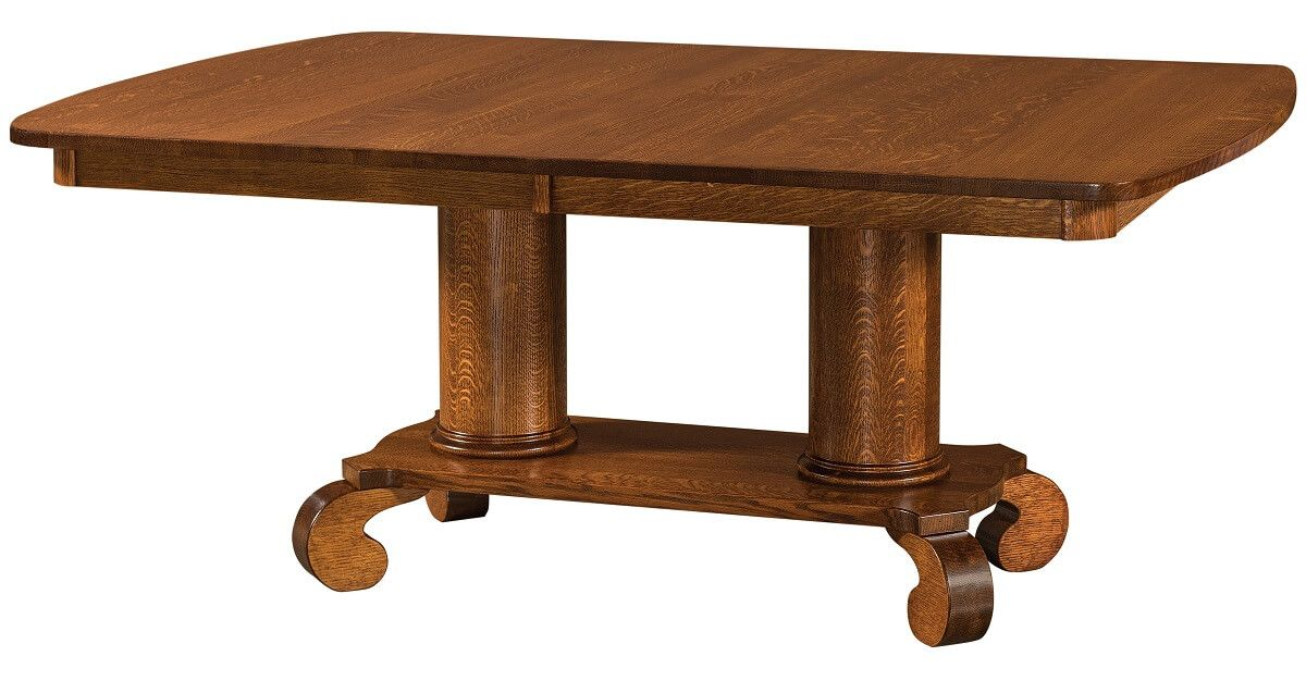 Lowell Double Pedestal Table