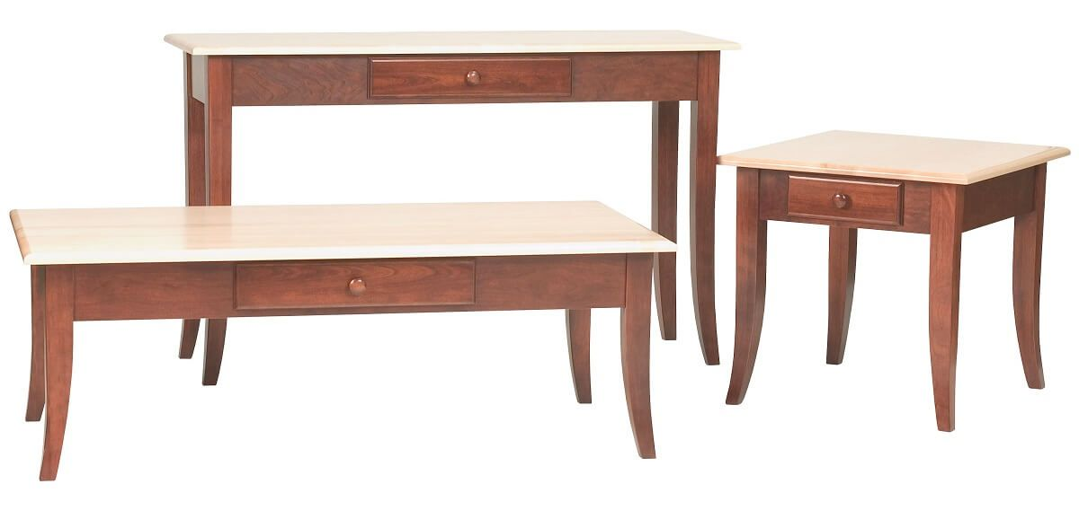 Two Toned Markham Occasional Tables