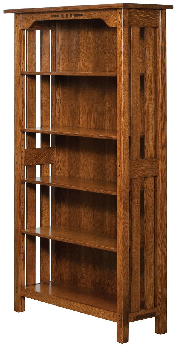 4-Shelf Mount Hood Bookcase