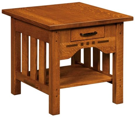 Mount Hood Wooden End Table