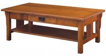 Zaynah Coffee Table in Quartersawn White Oak