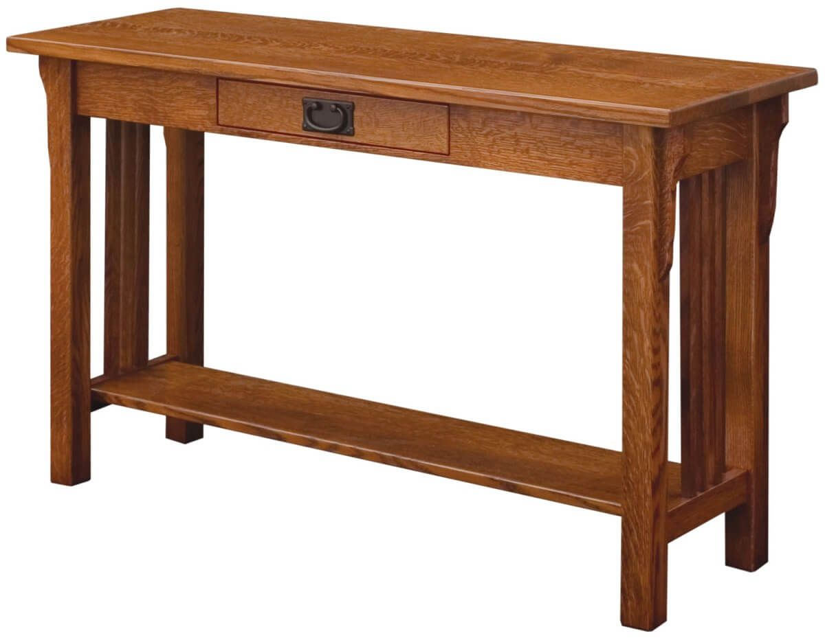 Zaynah Mission Console Table