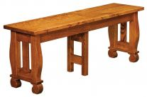 Lorelei Extendable Dining Bench