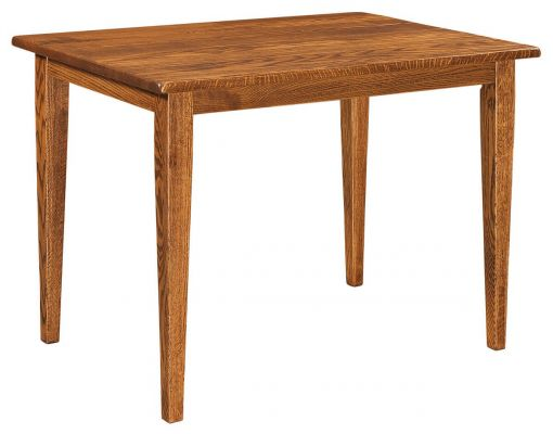 Manning narrow kitchen table countryside amish furniture for Narrow kitchen table