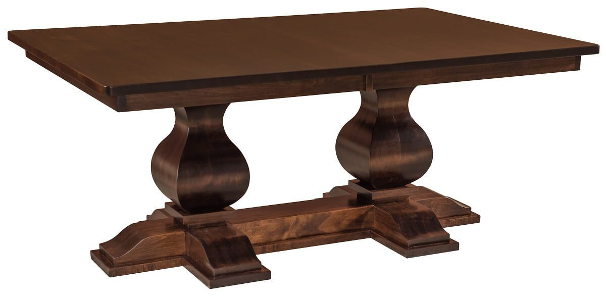 Obert Double Pedestal Dining Table
