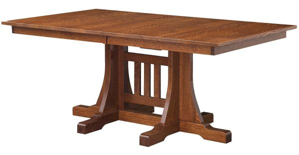 Barred Rock Trestle Table