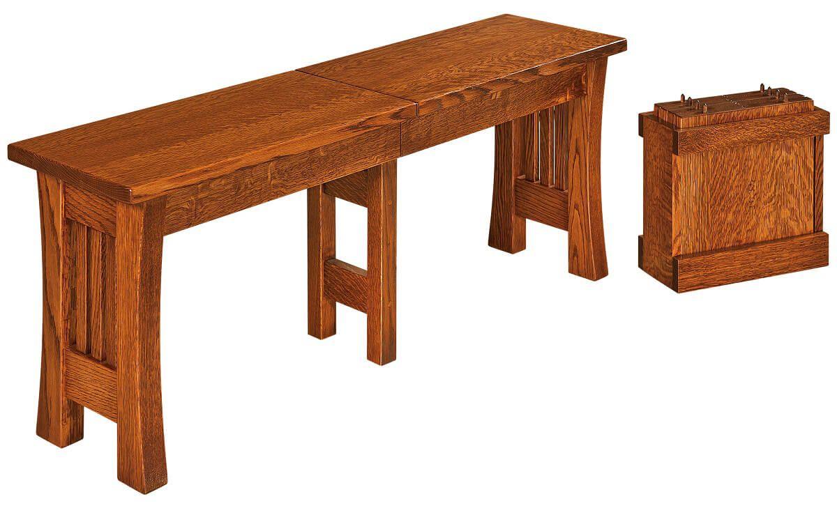 Berkshire Craftsman Extendable Kitchen Bench