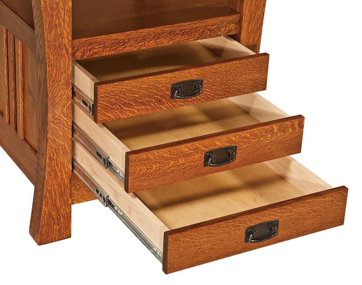 Full Extension Table Drawers