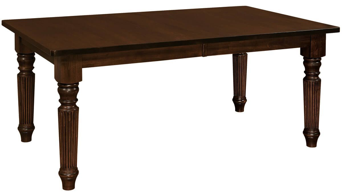 Duncanville Reeded Leg Table