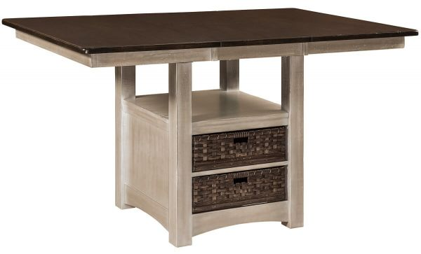 Enfield Square Bar Table with Leaf