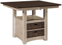 Enfield Square Butterfly Leaf Table