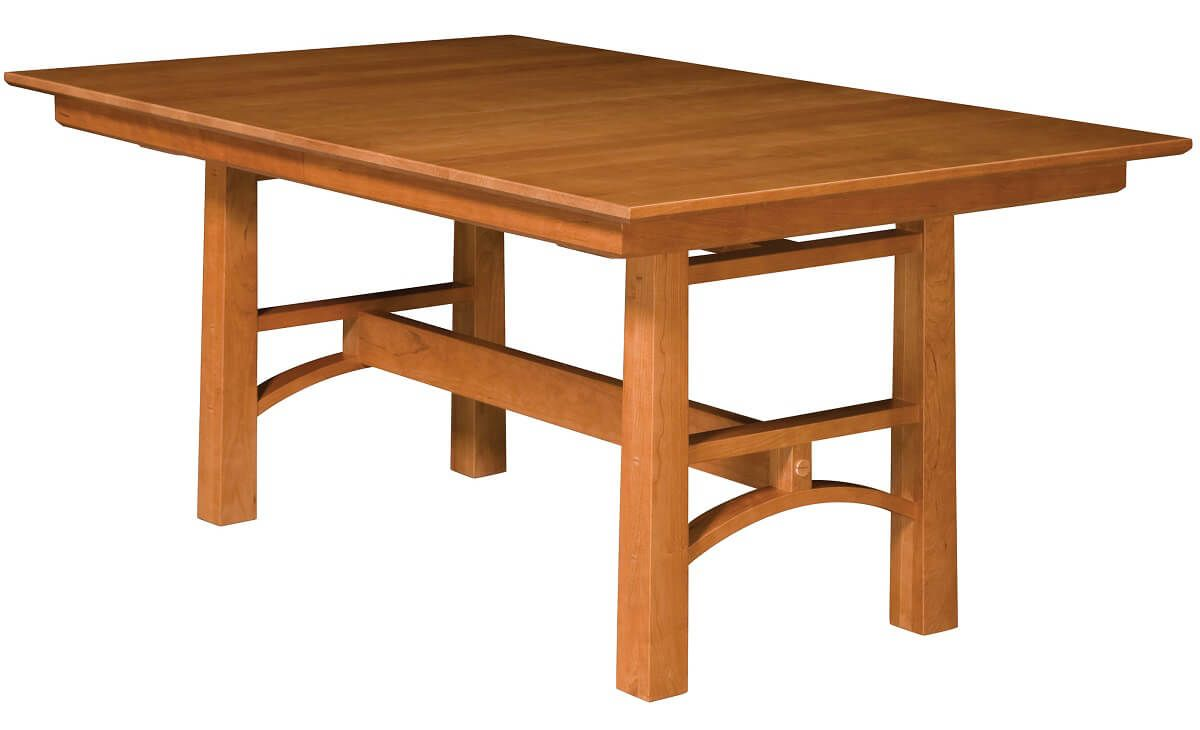 Falling Water Trestle Table in Cherry