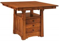 Fontana Bistro Table with Storage