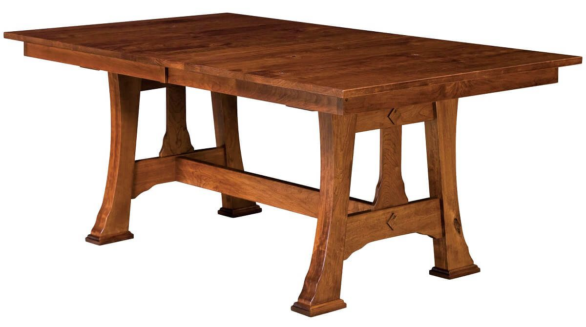 Genoa Rectangular Trestle Table