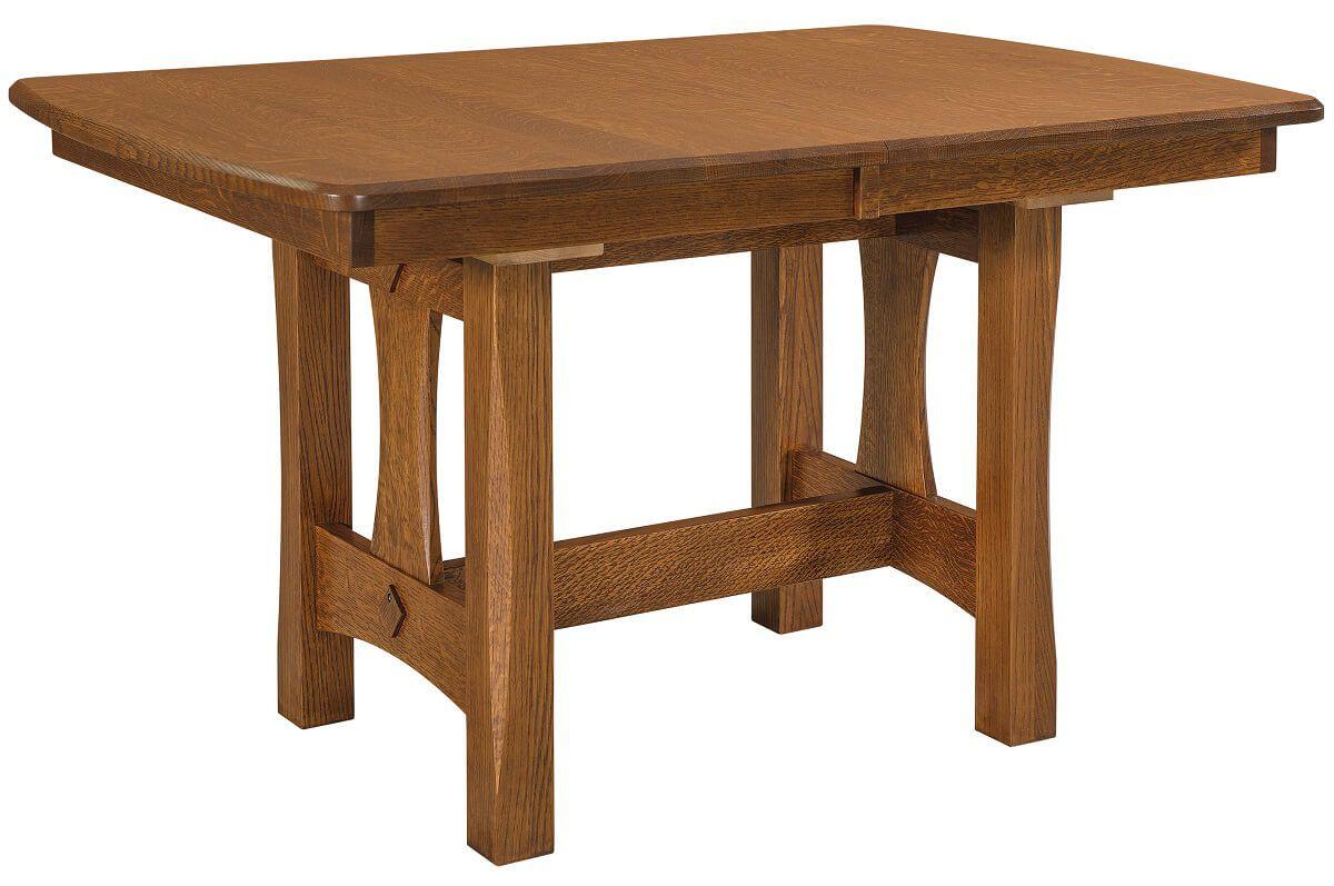 Golden Gate Narrow Trestle Table
