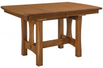 Mission Round Table.Mission Dining Room Tables Countryside Amish Furniture