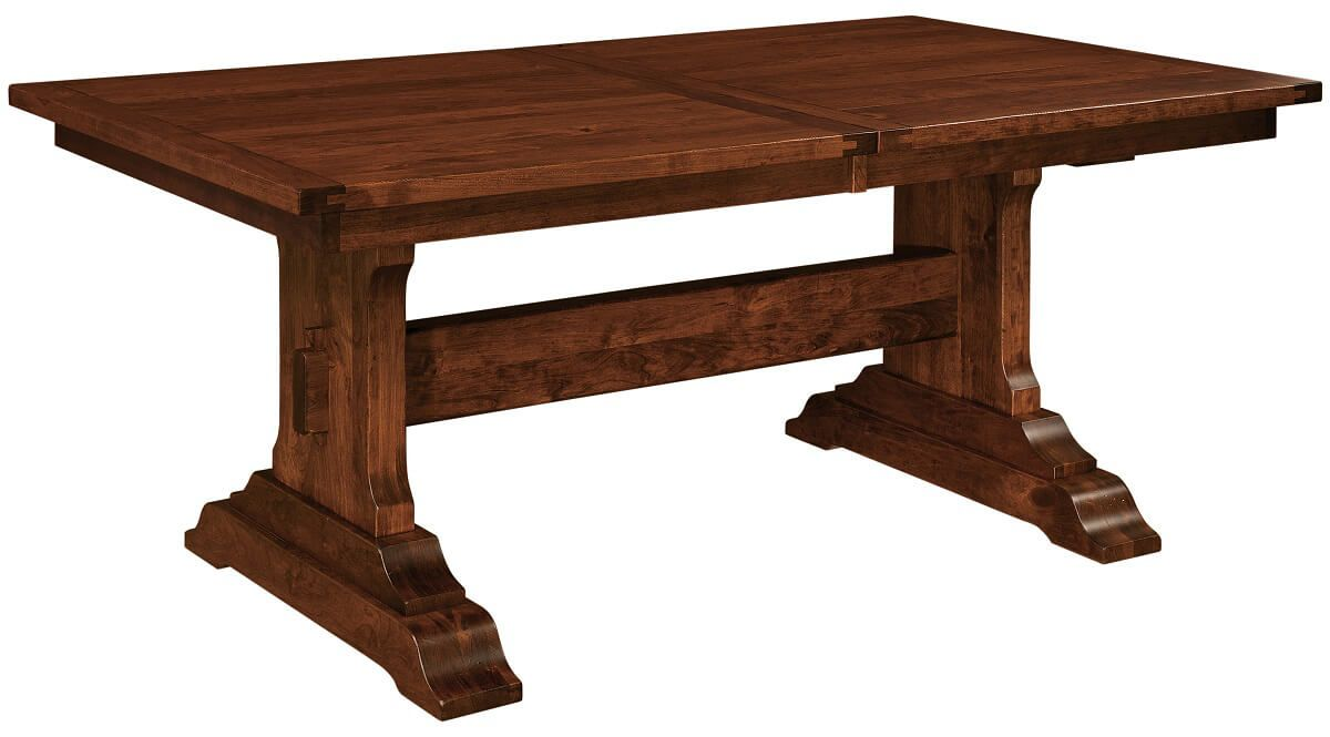 Harrisburg Plank Top Dining Table