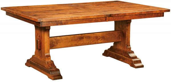 Harrisburg Plank Top Dining Table Countryside Amish
