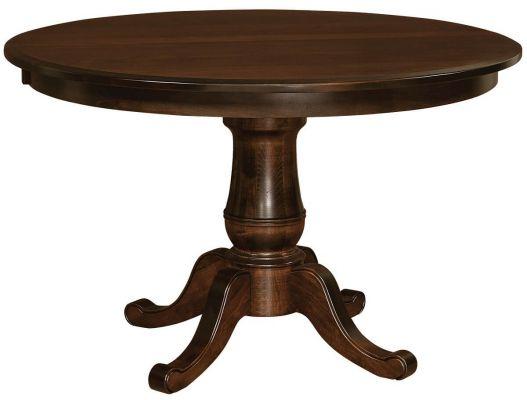 Hillsborough Small Single Pedestal Table Countryside