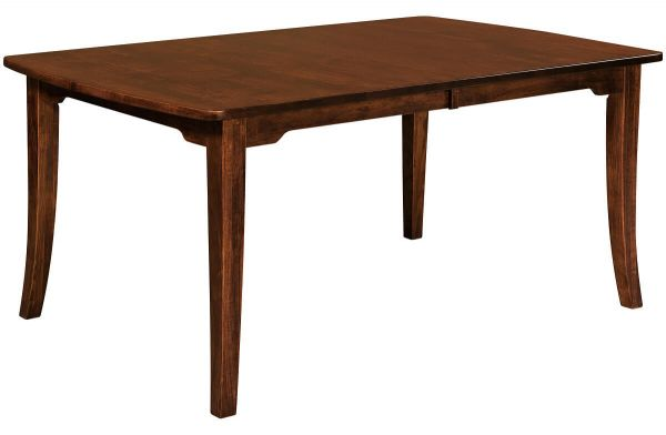 Kenton Mill Table in Brown Maple