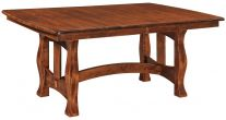 Ladue Butterfly Leaf Trestle Table