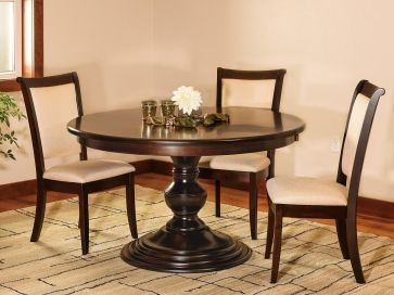 Livingston Dining Table and Chairs Set Countryside Amish Furniture