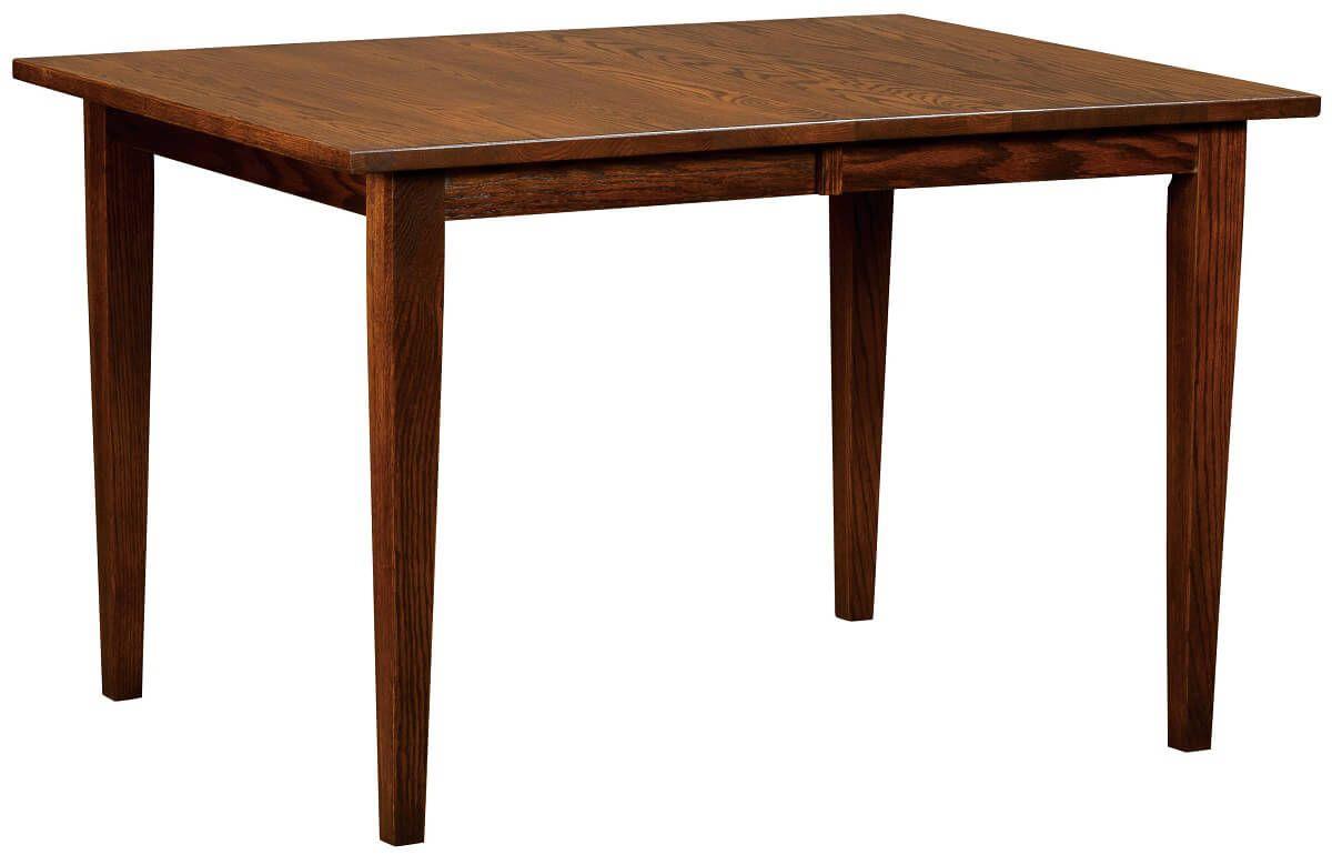 Amish Narrow Dining Table