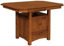 Mt. Marcy Butterfly Leaf Bar Table