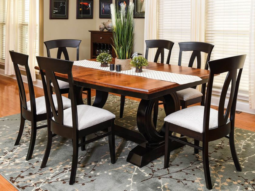 Osthoff Modern Dining Room Set Countryside Amish Furniture