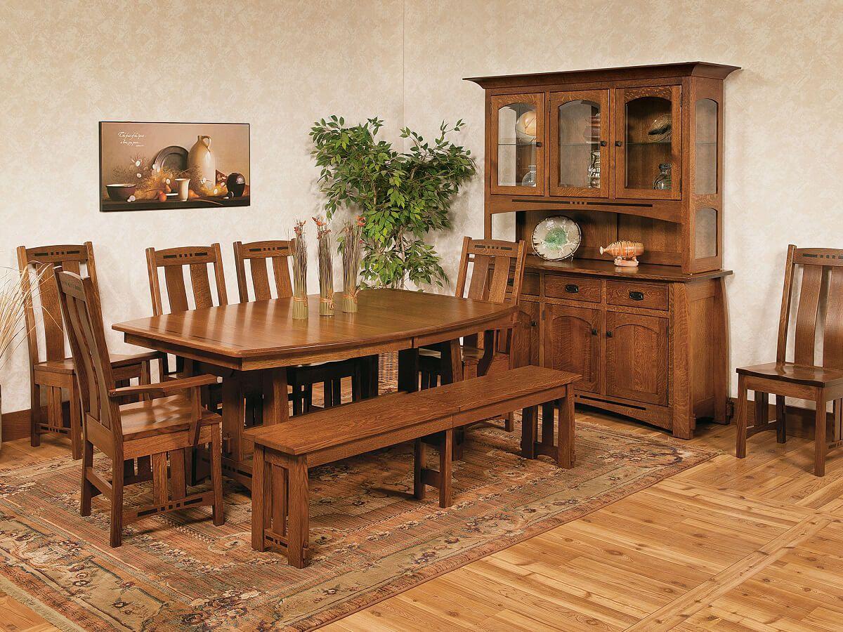 Sitka Craftsman Dining Room Set