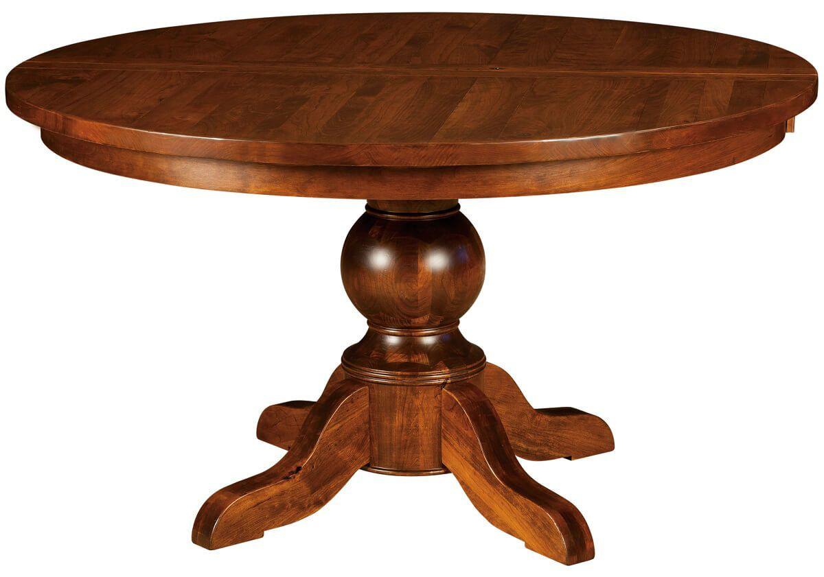 St. Croix Single Pedestal Table