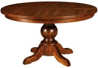 St. Croix Single Pedestal Table