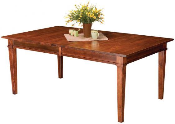 Astounding Summerhill Rectangle Leg Table Interior Design Ideas Philsoteloinfo