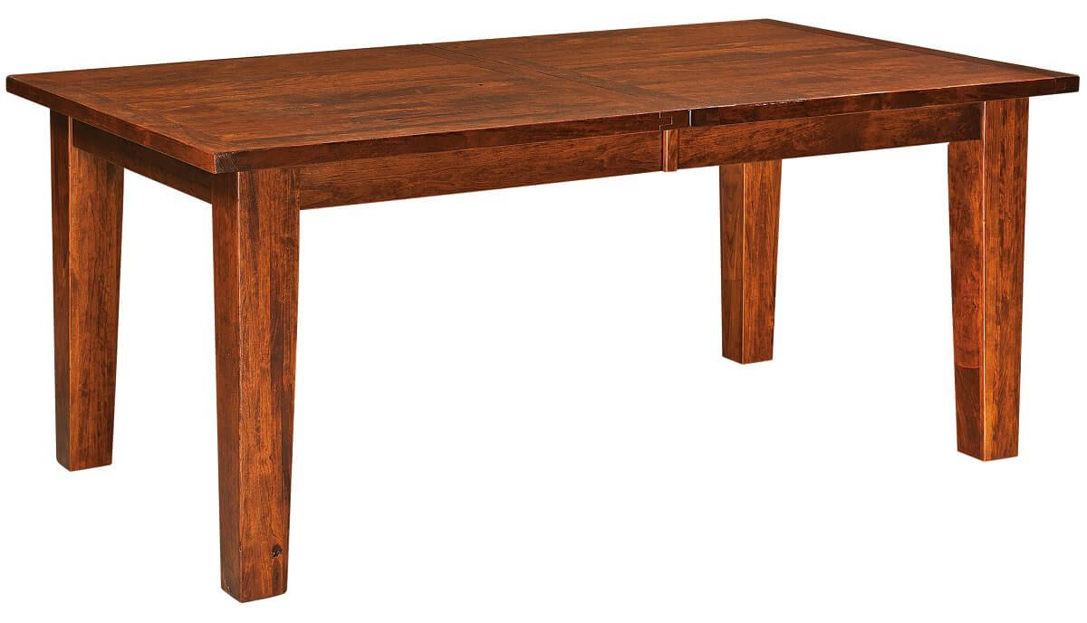 Sunset Ridge Plank Top Leg Table